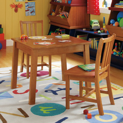 LAND OF NOD PLAY TABLES AND CHAIRS