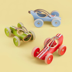 LAND OF NOD TOY CARS AND TRUCKS