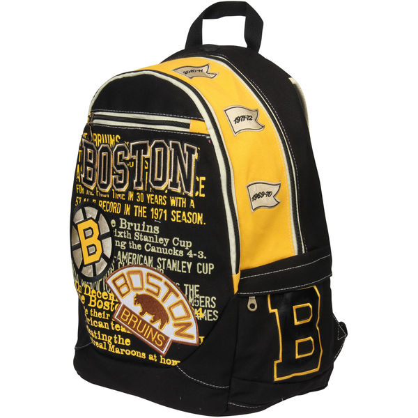 BOSTON BRUINS BACKPACKS AND BAGS
