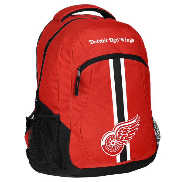 DETROIT RED WINGS BACKPACKS AND BAGS