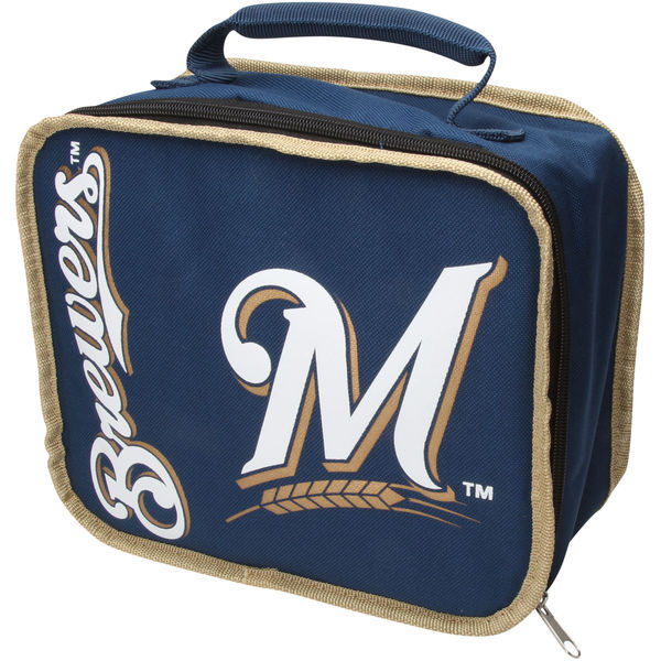 MILWAUKEE BREWERS LUNCH BOXES AND BAGS